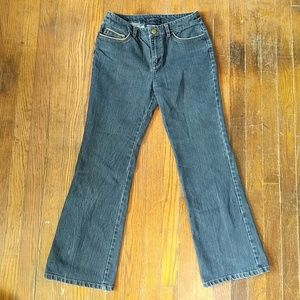 3 FOR $20 * Jones New York jeans with tan piping